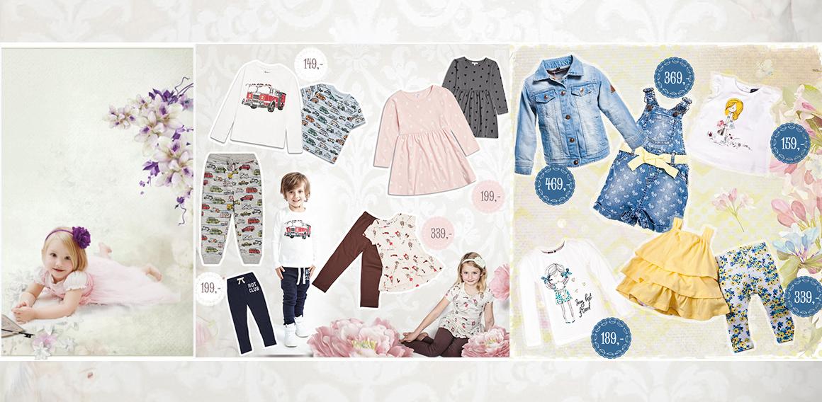 jarní oblečení pro děti