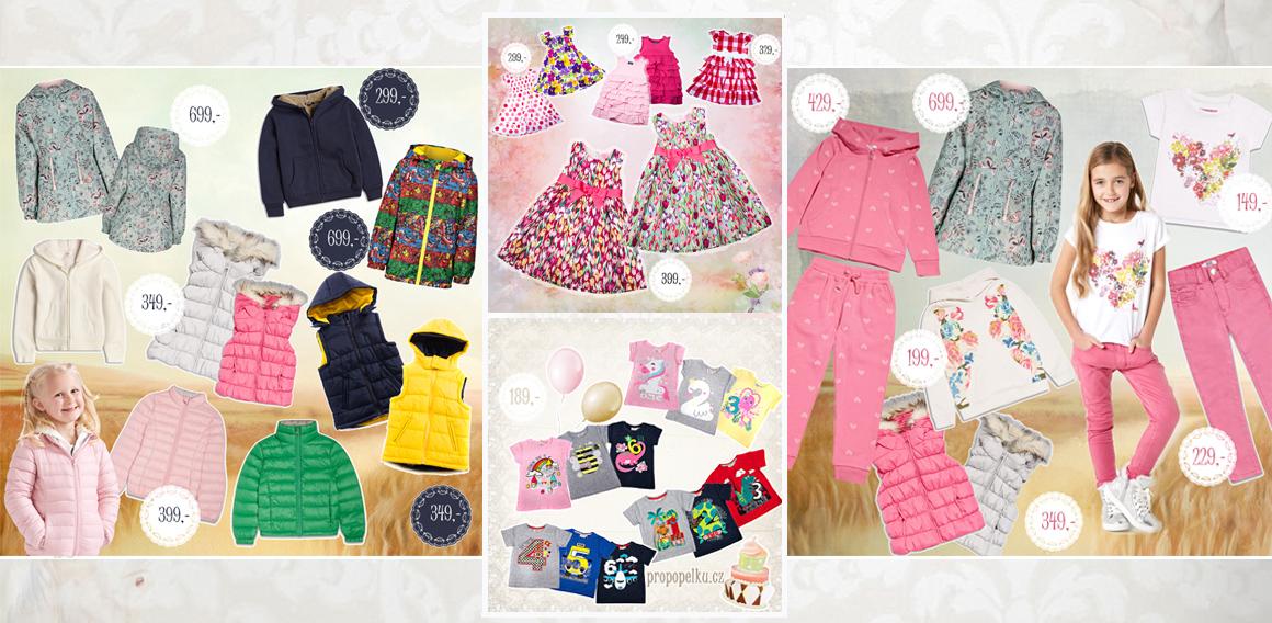 Oblečení pro děti 0-8 let