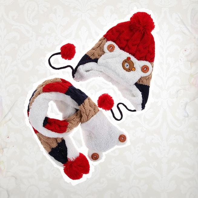 Kojenecké čepice, rukavice a šály
