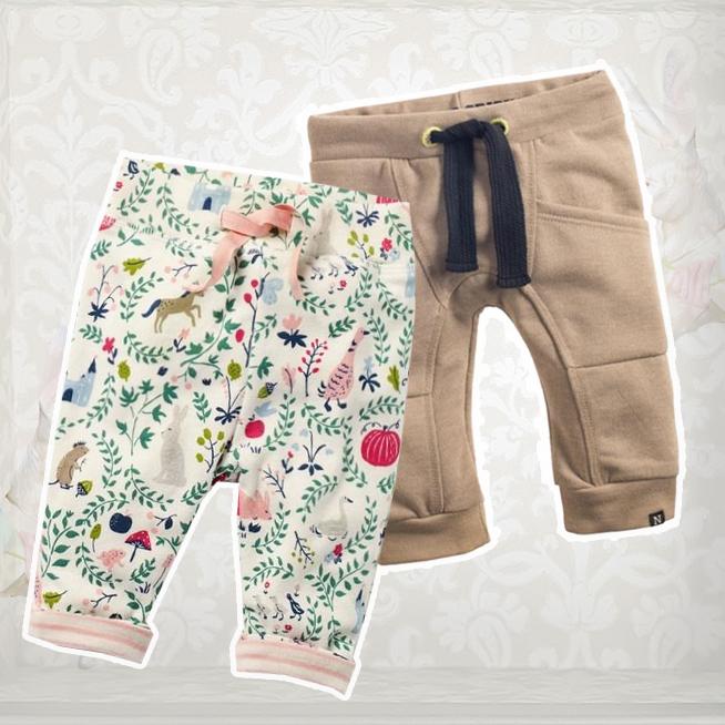 Kojenecké kalhoty a šortky