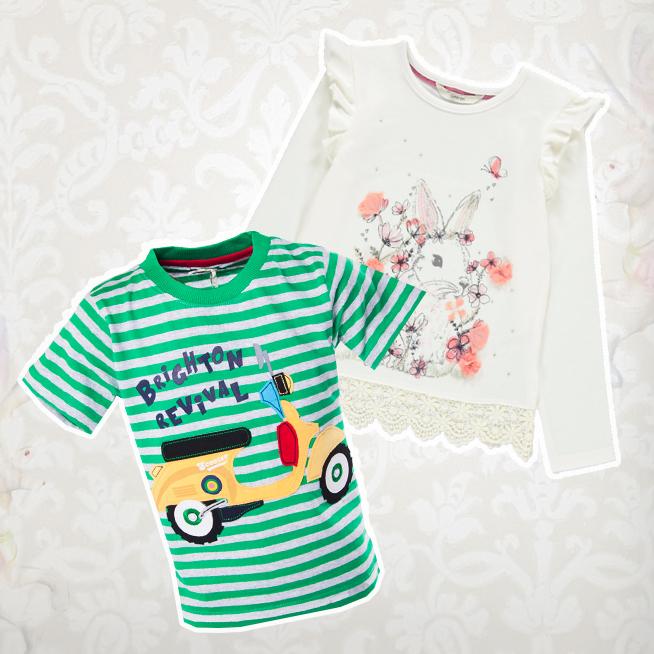Kojenecká trička a košilky