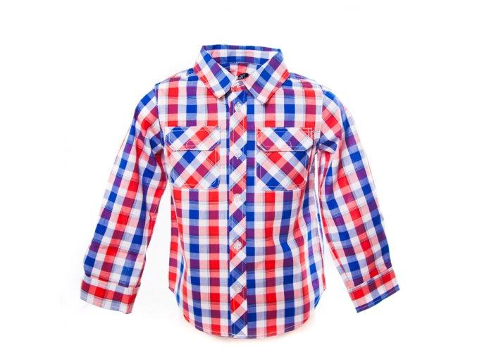 Chlapecká košile kostičkovaná Minoti 1-4 roky