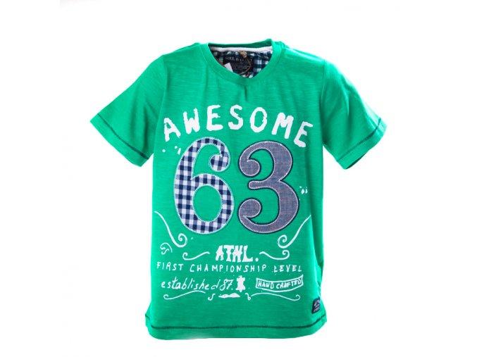 Tričko zelené s potiskem 3-8 let
