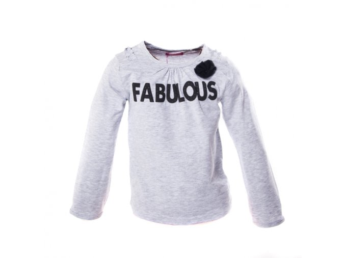 Tričko MINOTI šedé Fabulous 1-4 roky