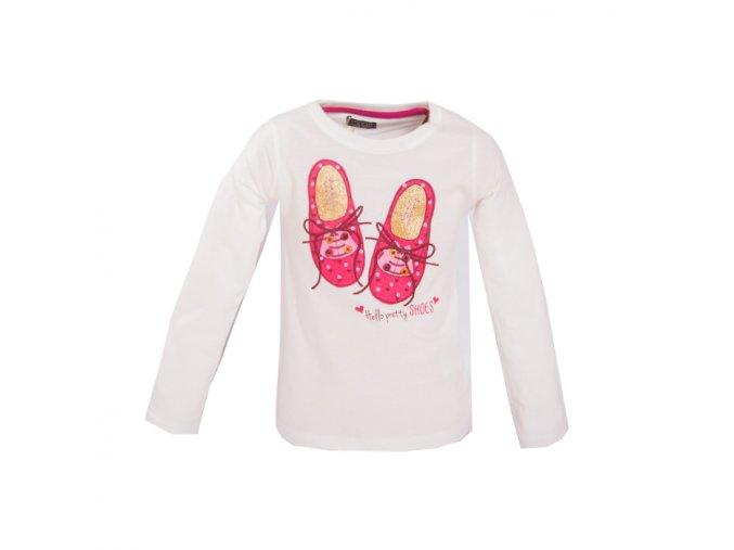 Tričko botičky bílé 1-4 roky