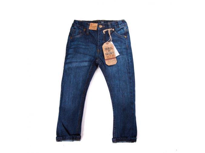 Chlapecké džíny klasické modré 3-8 let