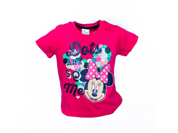 Minnie Mouse tričko 1-8 let