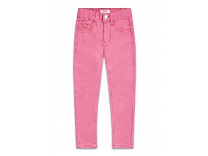 Džíny dívčí růžové 2-8 let