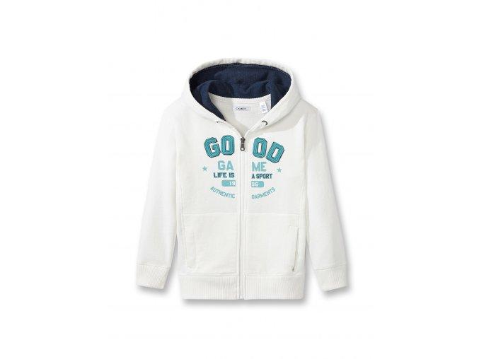 Dětská krémově bílá mikina OKAIDI