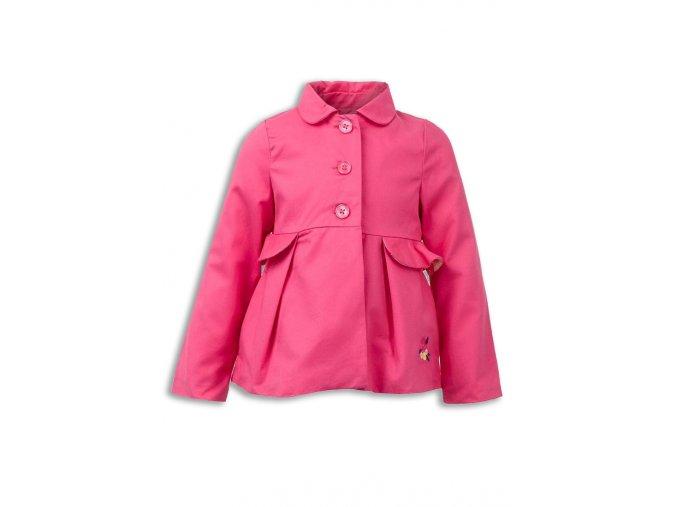 Dívčí růžový kabátek