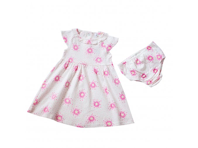 Kojeneké šaty s květy A