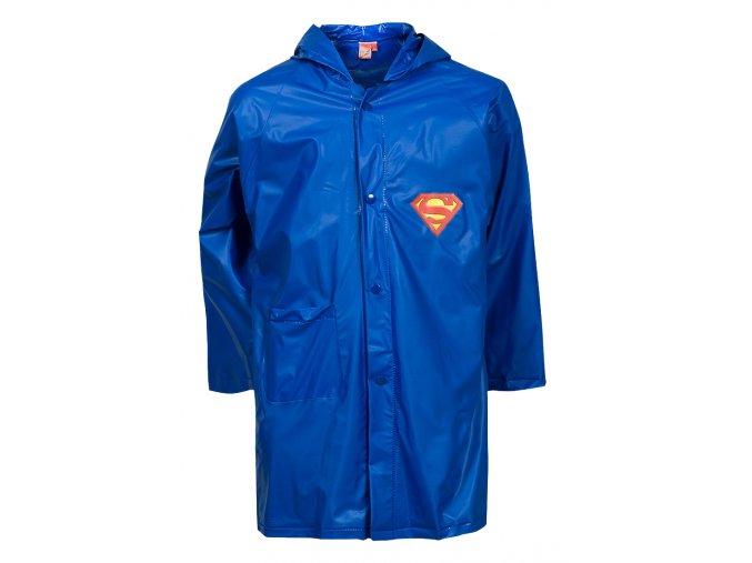 Dětská pláštěnka Superman, světle modrá