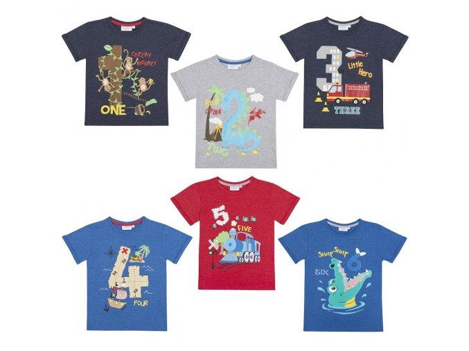 Narozeninové tričko chlapecké A 1-6 let