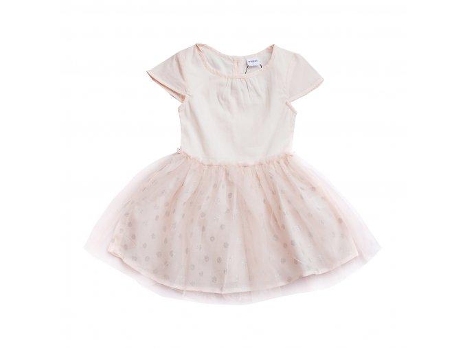 Růžové šaty s TUTU sukničkou