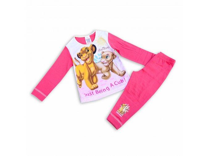 Dětské pyžamo dívčí Lví král 1-5 let