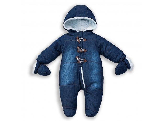 Luxusní zimní kojenecká kombinéza Jeans
