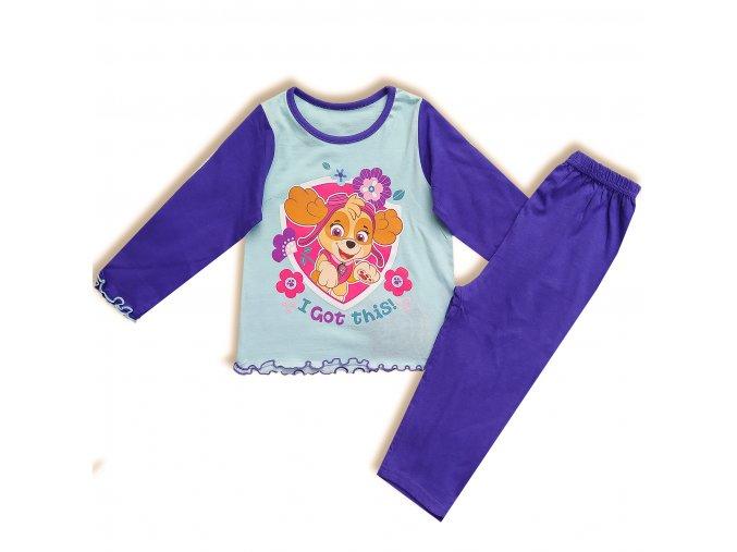 Dětské dívčí pyžamo Tlapková patrola Sky