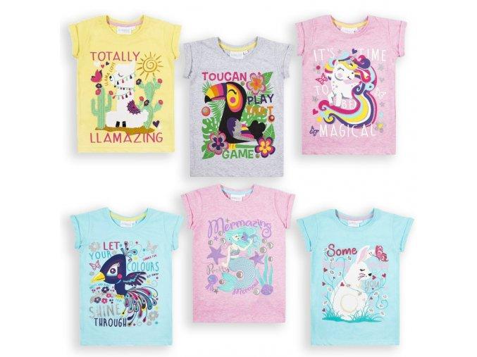 Narozeninová trička pro holky 1-6 let