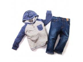 Dětský komplet 1 tričko džíny 1-4 roky