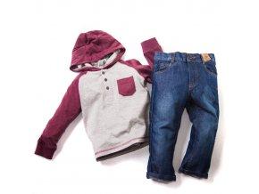 Dětský komplet 2 tričko džíny 1-4 roky
