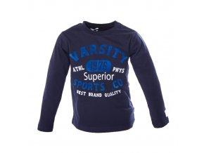 MINOTI Tigr 4 tričko modré 1-4 roky