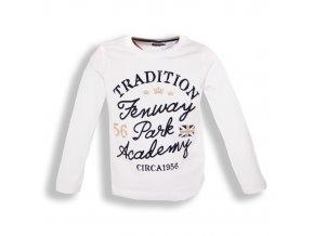 Tričko MINOTI Fenway bílé 1-4 roky