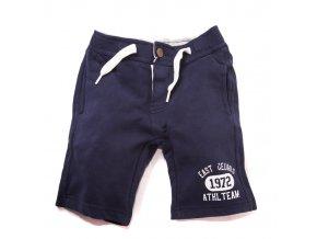 Chlapecké šortky modré 3-8 let