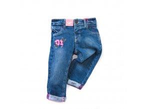 Dívčí džíny MINOTI se vzorem 1-4 roky
