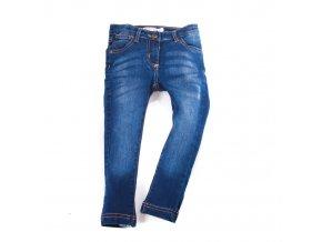 Dívčí džíny slim tmavé 3-8 let