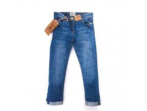 Modré dívčí džíny 3-8 let