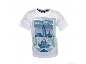 Tričko chlapecké White Manhattan 2-6 let