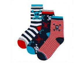 Chlapecké ponožky B (vel 23-36) 3 páry