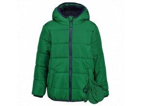 Dětská chlapecká, zimní bunda zelená nepromokavá