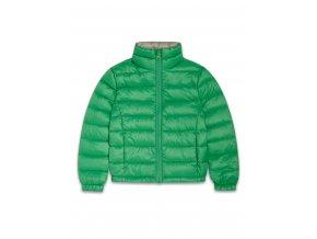 Zelená bunda jarní/podzimní
