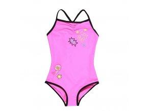 Dívčí plavky růžové
