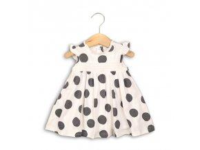 Dětské dívčí šaty s puntíčky