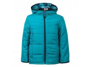Dětská jarní či podzimní bunda zelená