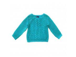Dětský svetr modrý