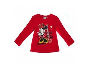 Tričko Minnie mouse červené
