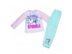 Dětské dívčí pyžamo s jednorožcem