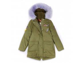 Luxusní zimní dětská dívčí bunda