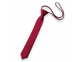 Dětská chlapecká kravata červená