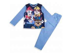 Dětské pyžamo Tlapková patrola modré