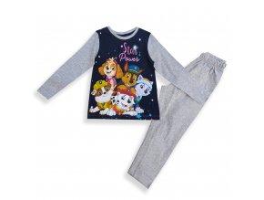 Dětské pyžamo Tlapková patrola šedé