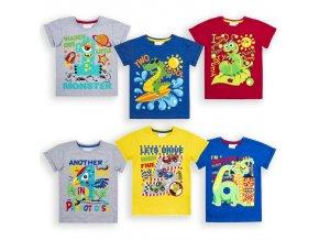 Narozeninová trička pro kluky 1-6 let