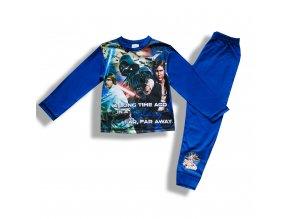 Dětské chlapecké pyžamo Hvězdné války modré 4-10 let