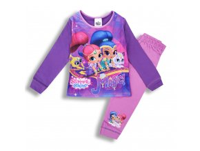 Dětské dívčí pyžamo Shimmer Shine 1-5 let