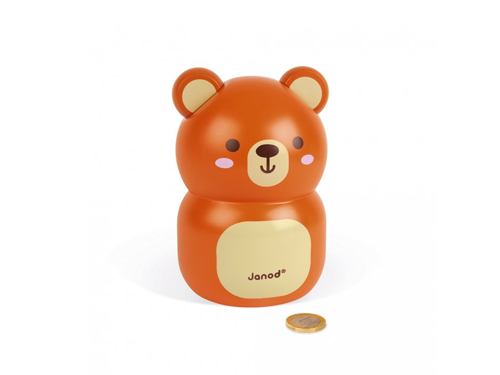 J04652 Janod pokladnicka medvedik 01