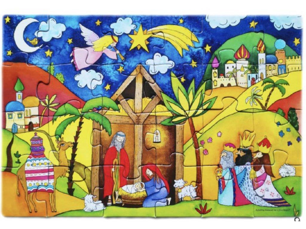 Puzzle adventní kalendář Andělské volání