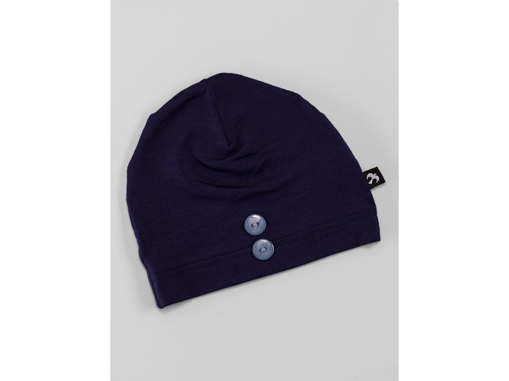 Čepice bez krytí tmavě modrá
